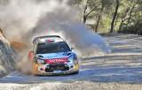 Al-Qassimi Khalid(UAE) - Martin Scott(GBR)/ Citroën DS3 WRC  Abu Dhabi Citroën Total WRT