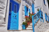 Traditional house in Chora, Amorgos.