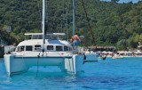 Sailing in the Ionian blue.