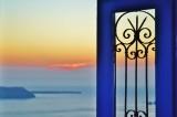 Sunset at Immerovigli, Santorini.