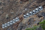 Cable car, Fira, Santorini.