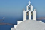 Aegean view from Imerovigli, Santorini.