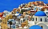 Colors of Oia, Santorini.