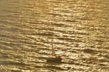 Sailing in the Aegean Sea.