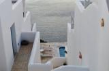 Relaxing in Oia, Santorini.