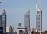 The Emirates Towers complex.