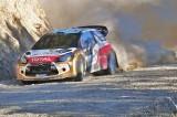 Hirvonen Mikko(FIN) / Lehtinen Jarmo(FIN) - Citroën DS3 WRC Citroën Total Abu Dhabi WRT