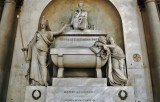 Santa Croce - the cenotaph of Dante