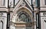 Details from the facade of Santa Croce.