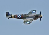 The Hellenic Air Force's historic MJ755 Spitfire