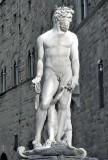 Piazza della Signoria - The fountain of Neptune