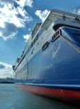 At the port of Piraeus.