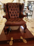 Vintage Shoe Shine Chair