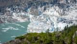 Close up of the Glacial Dam