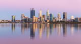 Perth and the Swan River at Sunrise, 12th January 2019