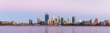 Perth and the Swan River at Sunrise, 15th January 2019