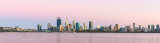 Perth and the Swan River at Sunrise, 30th January 2019
