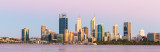 Perth and the Swan River at Sunrise, 7th January 2019