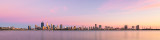 Perth and the Swan River at Sunrise, 8th January 2019