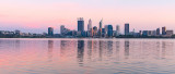 Perth and the Swan River at Sunrise, 26th February 2019