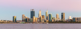 Perth and the Swan River at Sunrise, 3rd February 2019