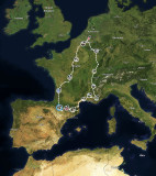 Spaanse Pyreneeën route