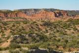 Red Cliffs at Caprock Canyon