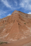 Red cliffs along Lighthouse trail