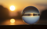 dawn in the glass ball