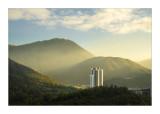 Sunset Peak from Tung Chung