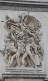 Parijs - Arc de Triomphe -  Frankrijk