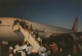 Vliegveld Belém aankomst