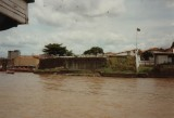 Presépio Fort  gezien van af Baia do Guajará