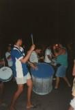 Sambaband op de Av.José Bonifácio