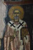 Gumusler Monastery Main apse Church father 1160.jpg