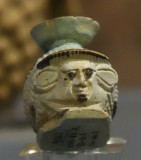 Istanbul Archaeological Museum Perfume flask with head june 2019 2174.jpg
