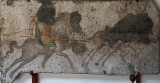 Istanbul Mosaic museum Hunting gazelles on horseback june 2019 2480.jpg