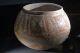 Ankara Archaeology and art museum Bichrome jar, Terracotta 1600-1500 BC 2019 3440.jpg