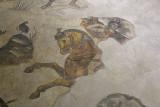 Urfa Haleplibahce Museum Hunting Amazons mosaic sept 2019 5181.jpg