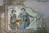 Kleio and Euterpe mosaic