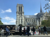 Notre Dame one day before the fire