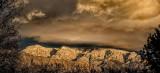 Stormy Winter Skies Over the Sandias