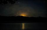 Full Moon Over the Bitterroot