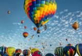 Hot Air Balloon Fiesta, Albuquerque