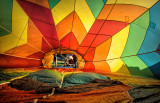 Hot Air Balloon - From the Inside