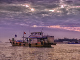 Fishing Boat in Early Morning