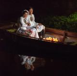 Floating Wedding Photo