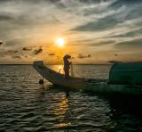 Sunset Tam Giang Lagoon