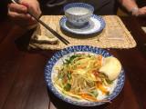 Marinated Jelly Fish and Green Mango Salad