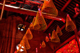Incense Coils in a Saigon Temple